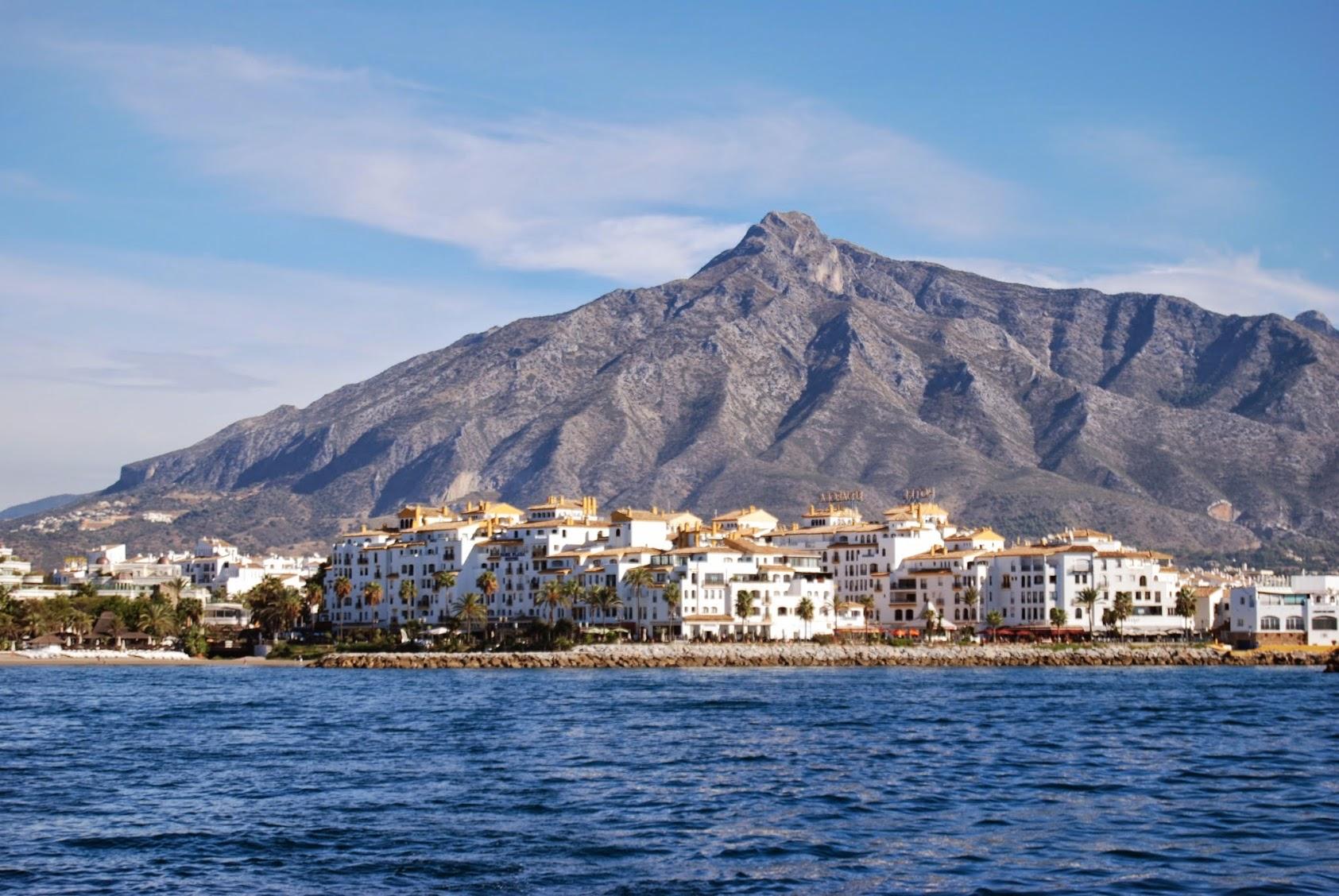 Almuñecar - en dag på havet